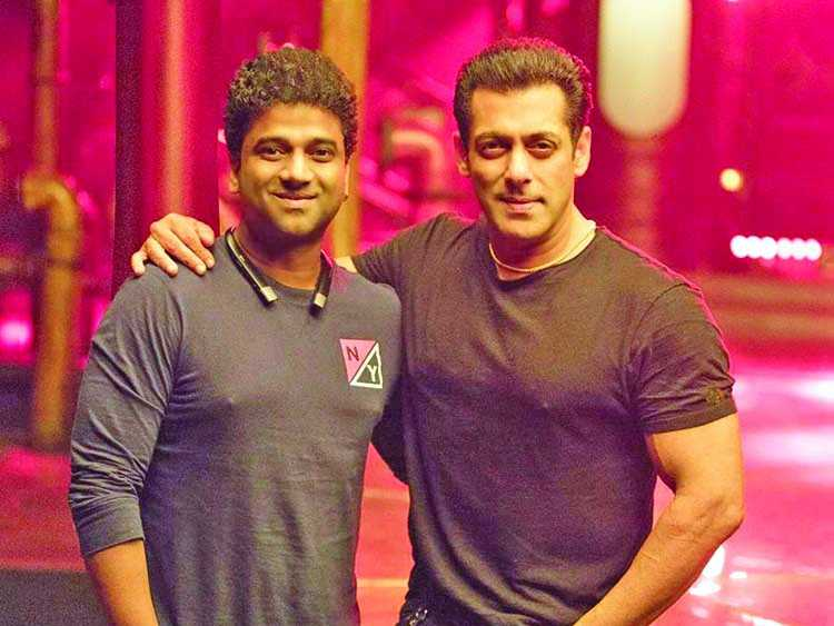 DSP pleased to reunite with Salman in 'Radhe'