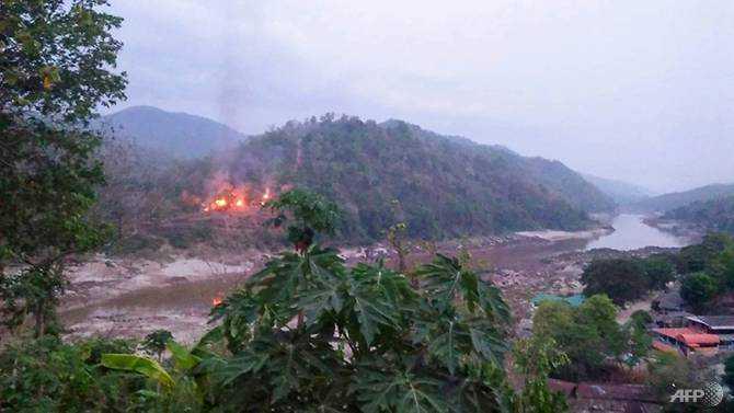 Myanmar junta launches oxygen raids in rebel territory