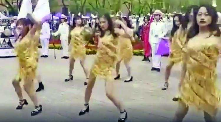 'Vulgar' and 'pornographic' dance to celebrate Tsinghua University anniversary lambasted online