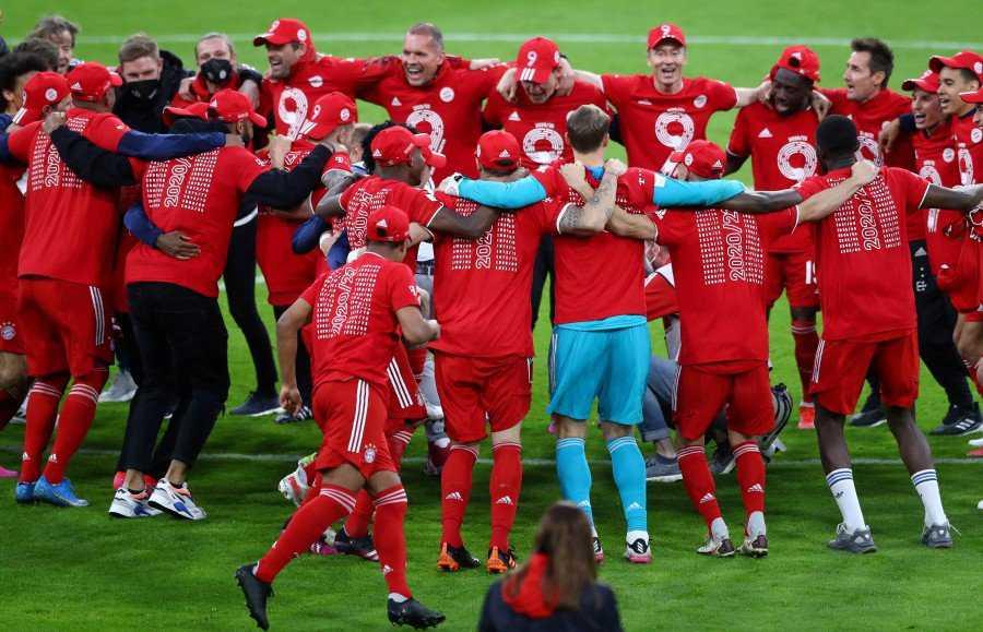 Bayern eye decade of dominance after ninth straight Bundesliga title