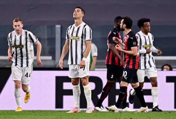 Juve Drop Out Of Top Four After Milan Thrashin