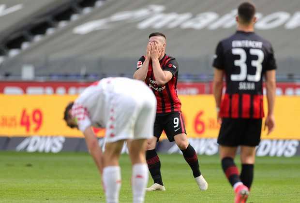 Frankfurt NEGLECT TO Reclaim Fourth Spot From Dortmund