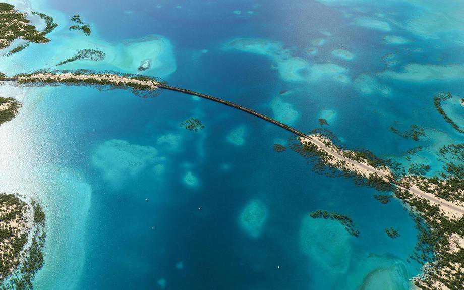 Saudi Arabia to build 1.2km bridge to Red Sea island