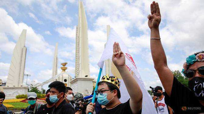 Thai youth activists to go ahead with protest despite gatherings ban