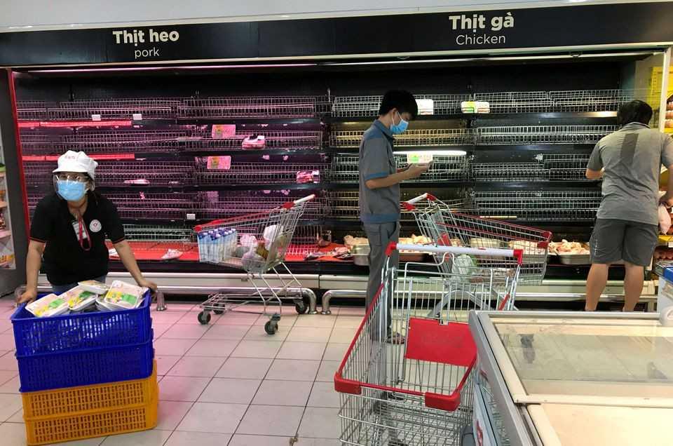 'Living with COVID-19' - Vietnam's biggest city proposes economic restart