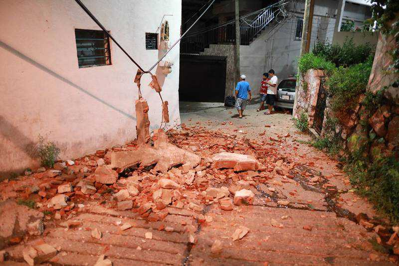 Mexico earthquake: Country hit by 7.0 magnitude quake